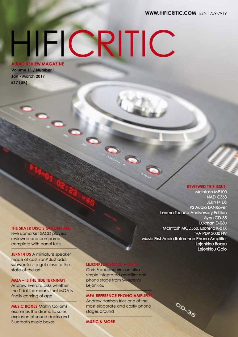Current Issue of HIFICRITIC Magazine